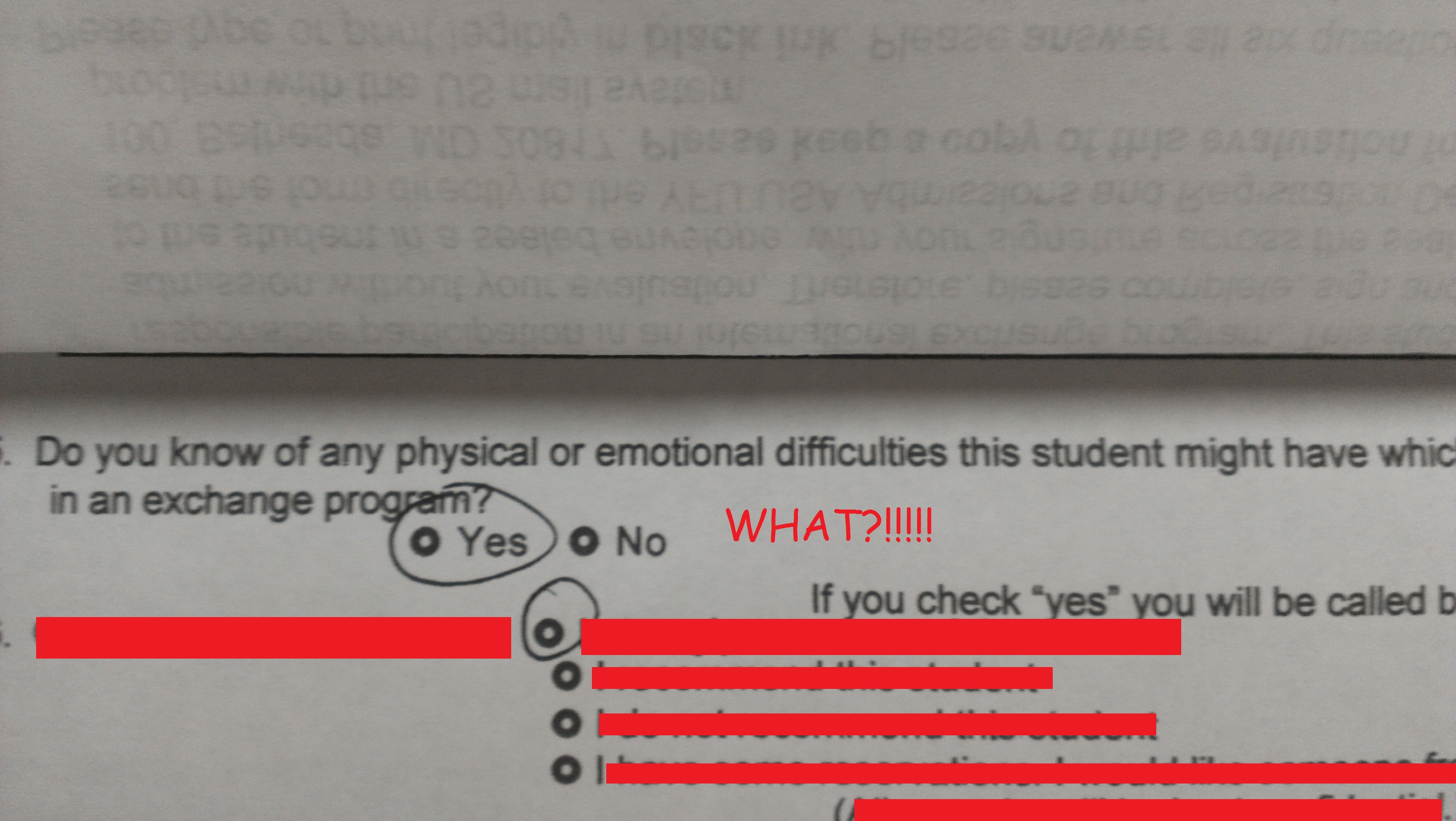 I don't think my teacher likes me at all!?